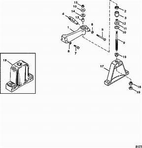 Mercruiser Rear Engine Mount Diagram