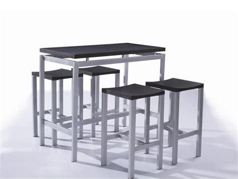 table haute avec tabouret pour cuisine table rabattable cuisine table haute avec tabouret