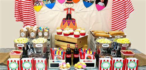 Carnival Birthday Checklist Planning 64 Outdoor Birthday Ideas