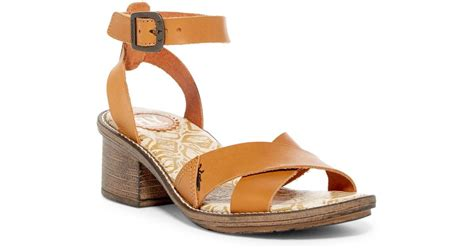 Fly London Cera Sandal In Brown