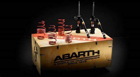 kit trasformazione  accessori originali abarth
