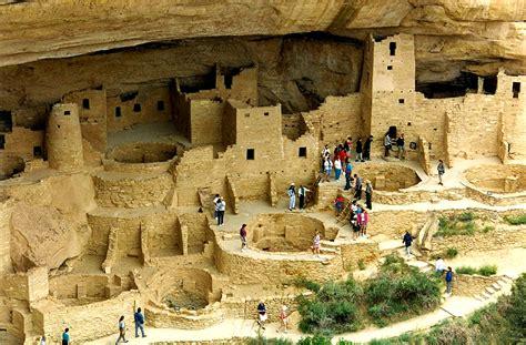 Indian Civilization In Mountain Side Colorado Colorado