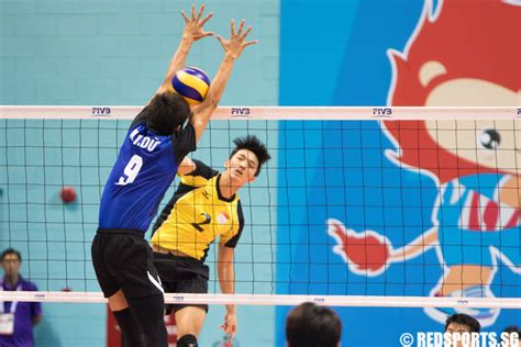 sea games volleyball men singapore lose  vietnam