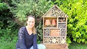 Fabriquer Un Hotel A Insecte : diy h tel insectes building insect hotel youtube ~ Melissatoandfro.com Idées de Décoration