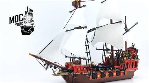Lego Boat Pirate by Lego Pirate Ship Moc