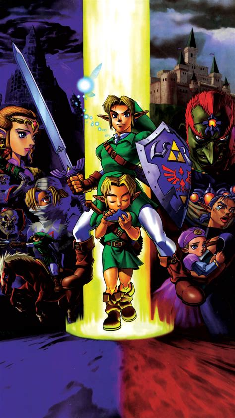 The Legend Of Zelda Majora S Mask Wallpaper Legend Of Zelda Ocarina Of Time Mobile Phone Wallpapers