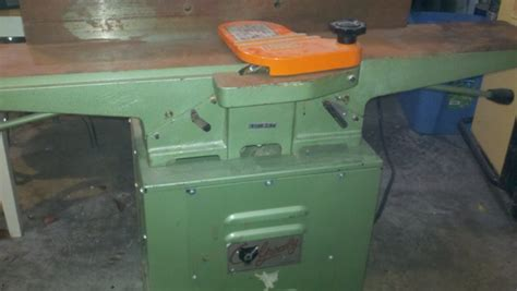 history   vintage grizzly  jointer woodworking talk