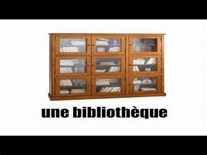 Franais Vocabulaire Les Meublesavi YouTube