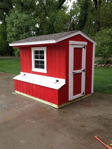 White Shed Chicken Coop by Wright S Shed Co Building Custom Sheds Kits For Your