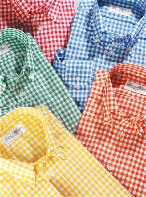 shirt green light blue gingham shirt