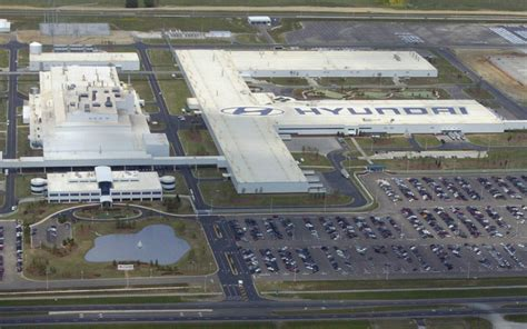 Hyundai Plant Montgomery by Hyundai S Alabama Production Plant Has Set A New