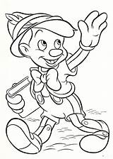 Disney Coloring Pages Walt Pinocchio Characters Fanpop sketch template