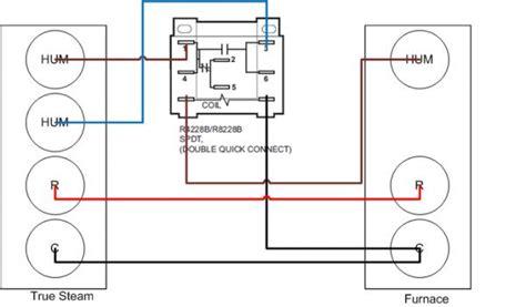 wiring truesteam  carrier furnace
