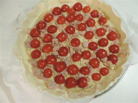 Quiche Au Thon Et Tomates Cerises  La Cuisine De Ponpon