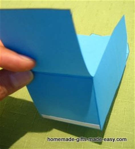 instructions  making gift boxes