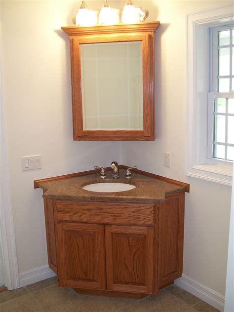 corner bathroom vanity units   bath storage