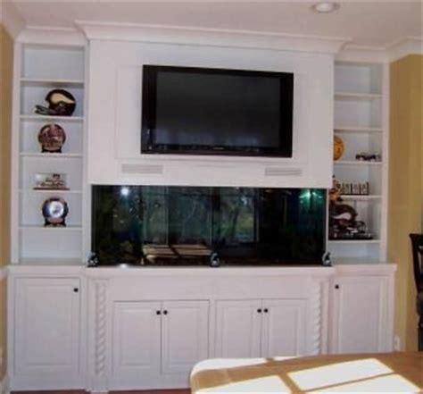 hand  built  fish tank entertainment center  kent