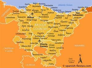 Mapa Del Pa U00eds Vasco