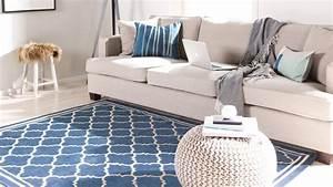 Tapis Bleu Scandinave : trouvez votre tapis scandinave westwing ~ Teatrodelosmanantiales.com Idées de Décoration