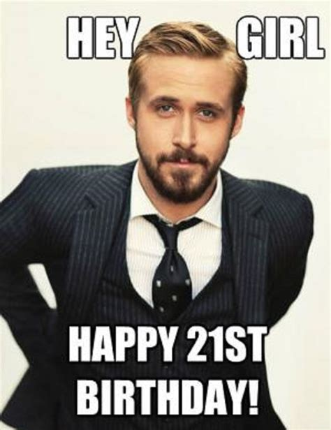 21st Birthday Meme 20 Outrageously Happy 21st Birthday Memes