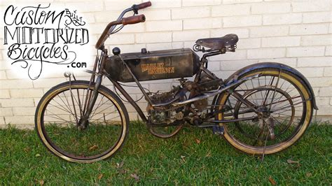 1910 Harley Davidson Replica Bike