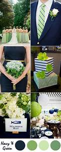 ten most gorgeous navy blue wedding color palette ideas With blue and green wedding ideas