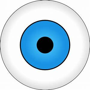 Tonlima Olho Azul Blue Eye Clip Art at Clker.com - vector ...