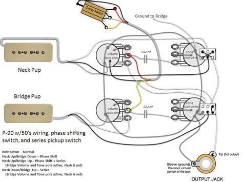 p pickup wiring diagrams additionally gibson les paul
