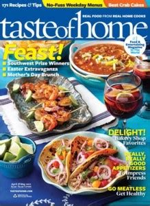 77699 Food Magazine Subscription Discount Code by Taste Of Home Magazine Discount Subscription Crock Pot