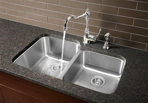 kitchen sink air gap keeps overflowing blanco stellar 1 3 4 bowl bgreentoday