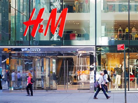 hm opens  store   expensive clothes business insider