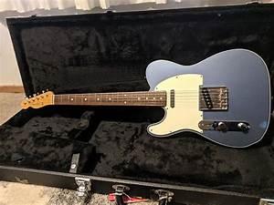 Fender Telecaster 1962 Reissue Lake Placid Blue Left
