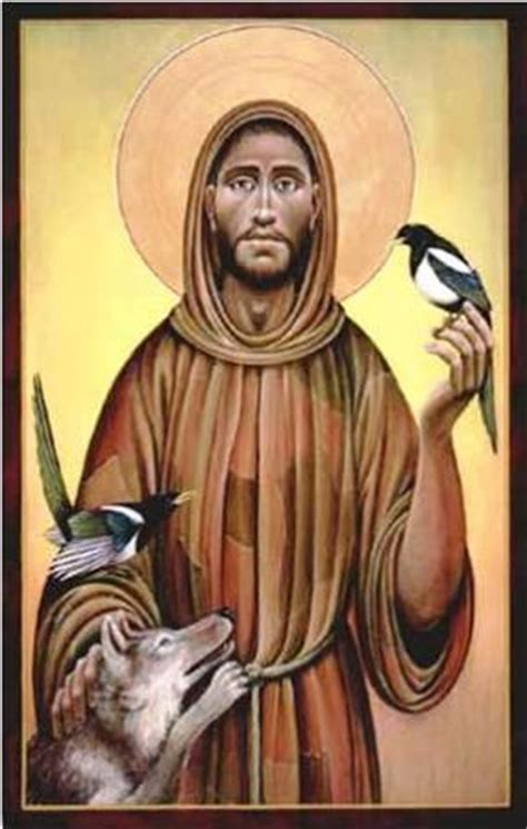 st francis of assisi icon francis of assisi god s holy fool