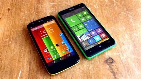 moto g versus nokia lumia 625 android central