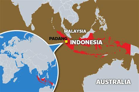 tsunami fears  massive earthquake hits indonesia