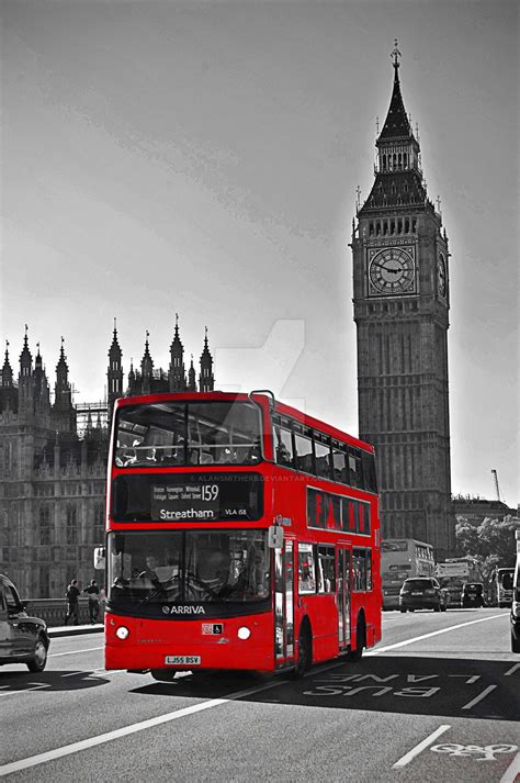 London Red Bus By Alansmithers On Deviantart