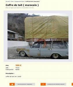 Coffre De Toit Le Bon Coin : coffre de toit marocain equipement auto picardie ~ Dailycaller-alerts.com Idées de Décoration