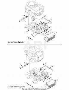 Troy Bilt 13ap61kp011 Horse  2008  Parts Diagram For