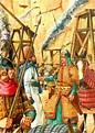 Hulagu Khan at the Siege of Baghdad | War art, Middle ...