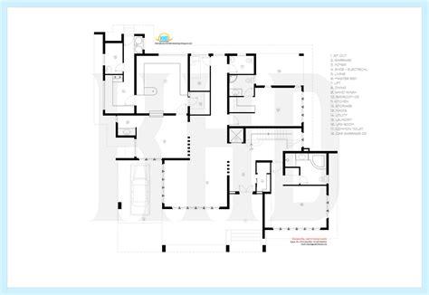 villa floor plans beautiful contemporary luxury villa with floor plan