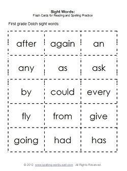 sight words list   primary grade  activities