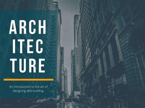 Customize 84+ Architecture Presentation templates online