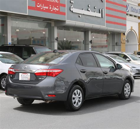 Maybe you would like to learn more about one of these? USED Toyota - Corolla XLI 1.6 L - Elite Motors Qatar