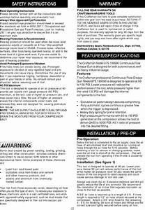 Air Grease Gun Manual