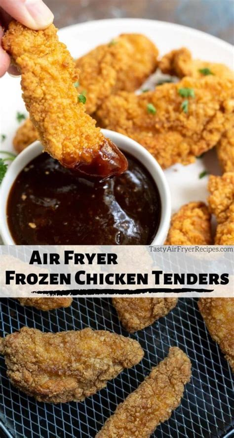 frozen chicken fryer air tenders strips recipes