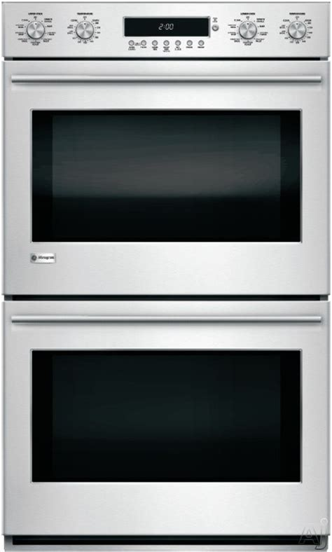 monogram zetshss   smart double electric wall oven  wi fi connect  cu ft