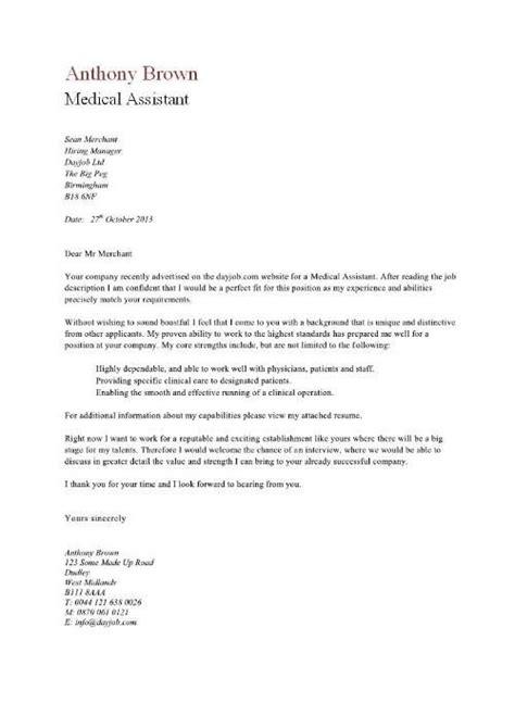 medical assistant resume cover letter httpwww