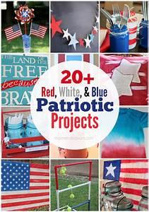 20+ Patriotic Crafts & DIY Decor