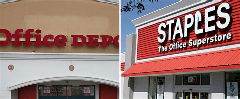 Office Depot Staples by Staples Vs Office Depot How The Two Stack Up Abc News