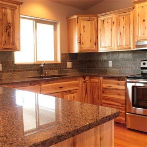 Knotty Hickory Kitchen Cabinets   4,844 knotty hickory